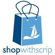 Shop with scrip bag logo